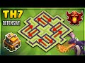 BRAND NEW TOWN HALL 7 (Th7) DEFENSIVE/TROPHY BASE DESIGN 2018-Clash Of Clans
