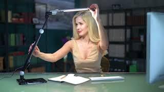 видео Настольная лампа Tojane TG988 - отличный светодиодный светильник