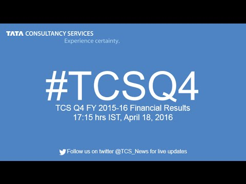 TCS Q4 FY 2015-16 Financial Results