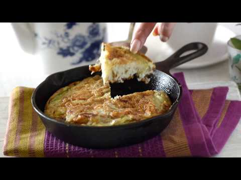 Spanish Omelette Recipe -  Breakfast Or Snack Recipe - Tortilla Española,