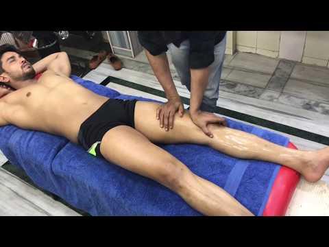 ASMR Deep Tissue Full Body Massage By Shamshed Alam (Shantanu)   Front Legs Part-2