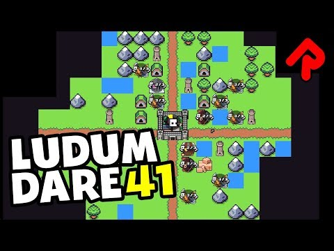 Best Ludum Dare 41 Games #2: Kingdom Manager, Shuffle Knight, Tombagotchi,Netcrawler,Wreckless Rally