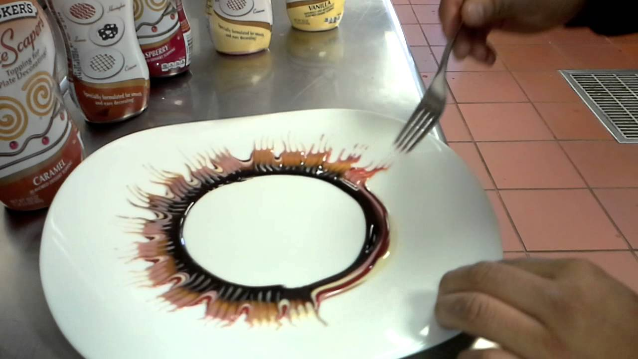 Dessert decoration decoracion de postres - YouTube