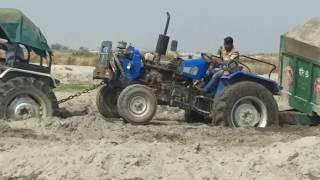 Eichar & 2 sonalika tractor tochan