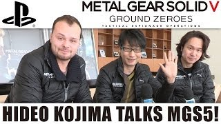 Hideo Kojima Speaks! New Metal Gear Solid V: Ground Zeroes PS4 Gameplay [1080p]