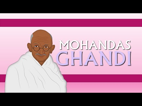 Mohandas Gandhi Biography for Children  for Kids Cartoons