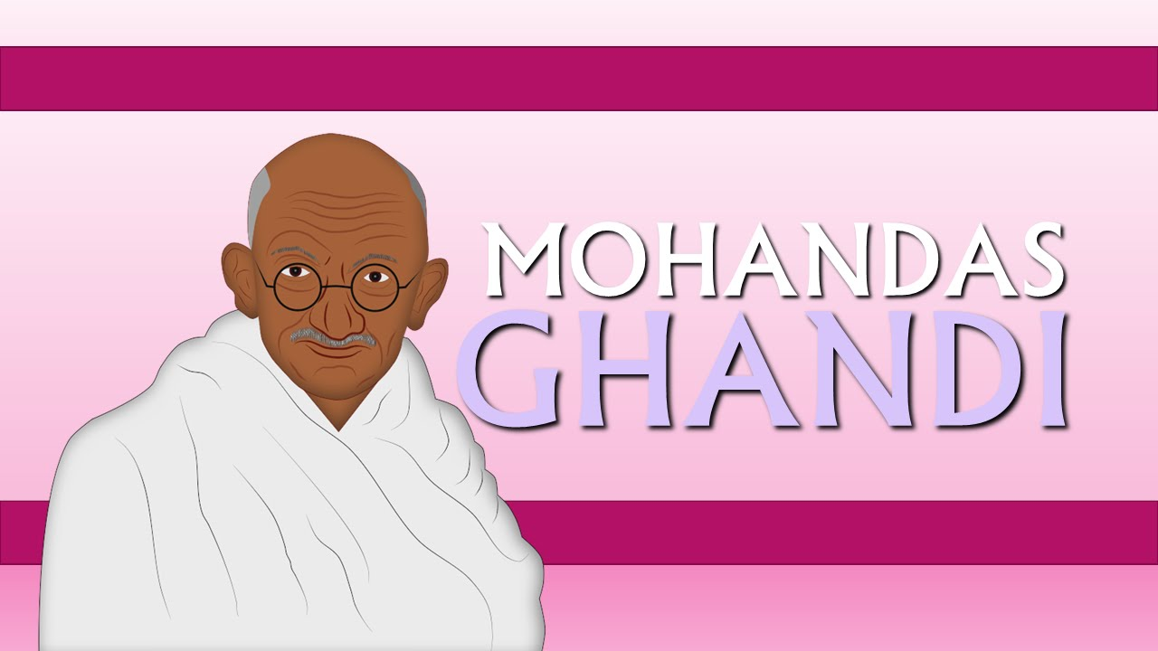 mohandas gandhi biography for children youtube for kids cartoons youtube - Mahatma Gandhi Lebenslauf
