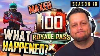 MAXED SEASON 10 ROYALE PASS - WHAT HAPPENED?