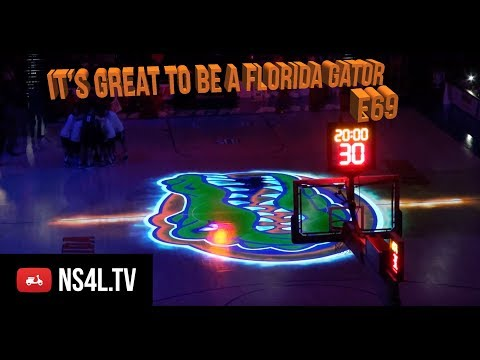 NS4L.TV - 69 - Scooter Giveaway at the University of Florida Basketball Game