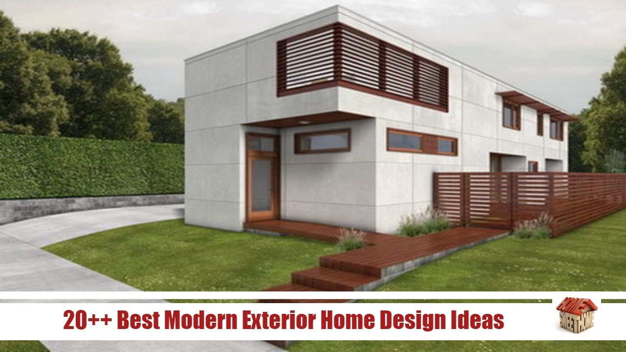 Modern Exterior Home contemporary home exterior 20 Best Minimalist Modern Exterior Home Design Ideas Home Design Videos