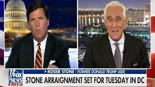 Tucker Carlson interviews Roger Stone January 25, 2019