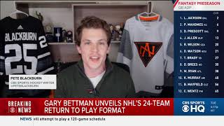 CBS Sports: New Playoff Format Puts Blue Jackets at an Advantage (May 27, 2020)