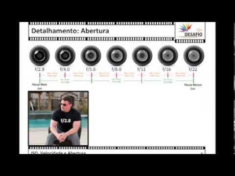 Tutorial Basico - ISO, Velocidade e Abertura