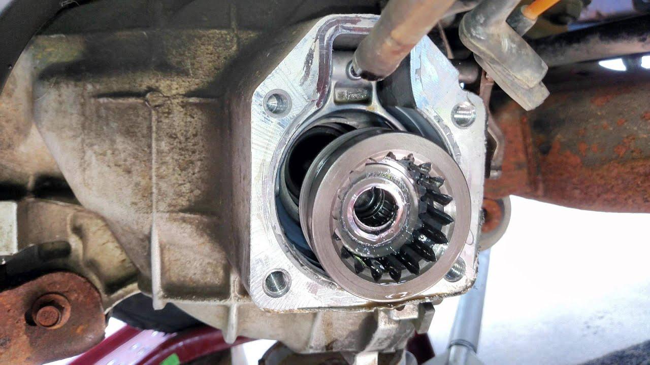2003 F150 4WD Shift Fork  YouTube