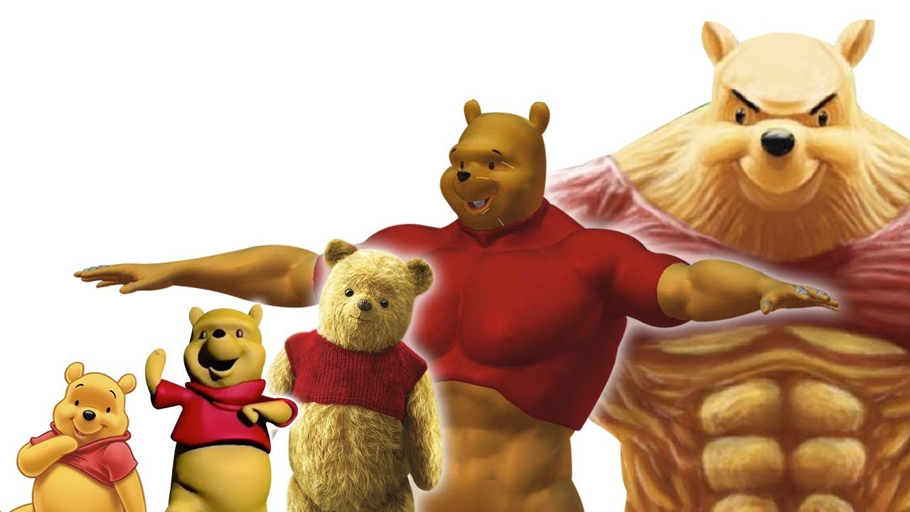 niveles de poder de winnie pooh  youtube