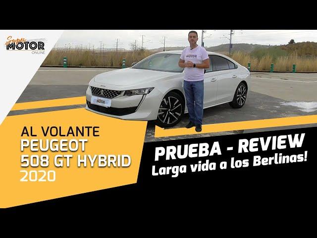 Al volante del Peugeot #508 GT #Hybrid 2020 / Review 508 hibrido / SuperMotor.Online / T5 - E33