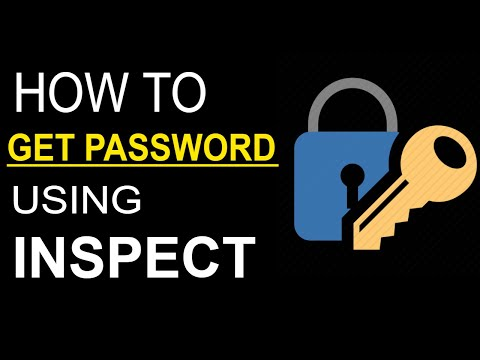 how to download using inspect element