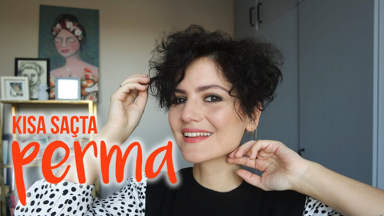 Kisa Sacta Perma Islemi Lacin Tenel Youtube