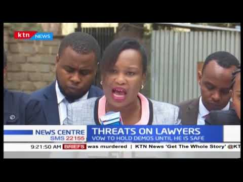 LSK wants Lawyer Kanjama's safety assured, vow to hold demos until he's safe