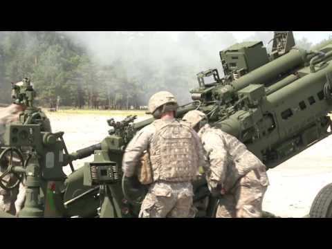 Massachusetts NG Field Artillery Training