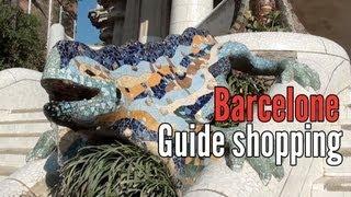Guide Shopping Barcelone