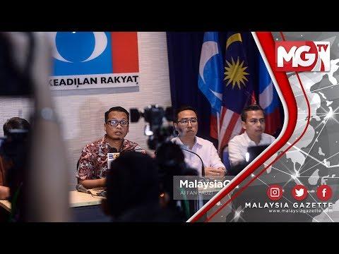 """TERKINI : PKR Serah """"Status Penduduk Tetap Zakir Naik"""" kepada Pakatan Harapan"""