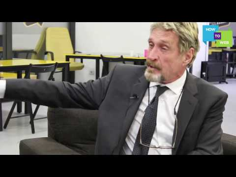 "John McAfee - ""Your phone is watching you"" 2017"