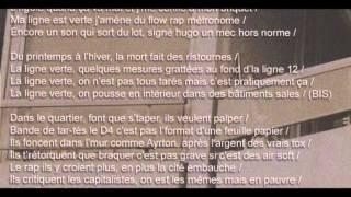 HUGO TSR - La ligne verte (PROD. Char Le Gouffre) [Lyrics/Paroles]