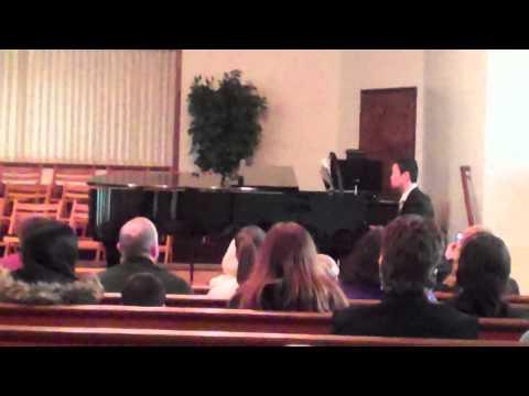 John Weinberg Plays Minuet in G