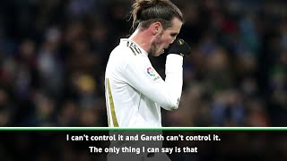 The fans can have their own opinions, after Bale is booed off the field - Zinedine Zidane