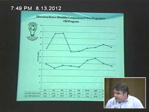 Department Head Presentation - Health Director - Jim Morin 8/13/2012