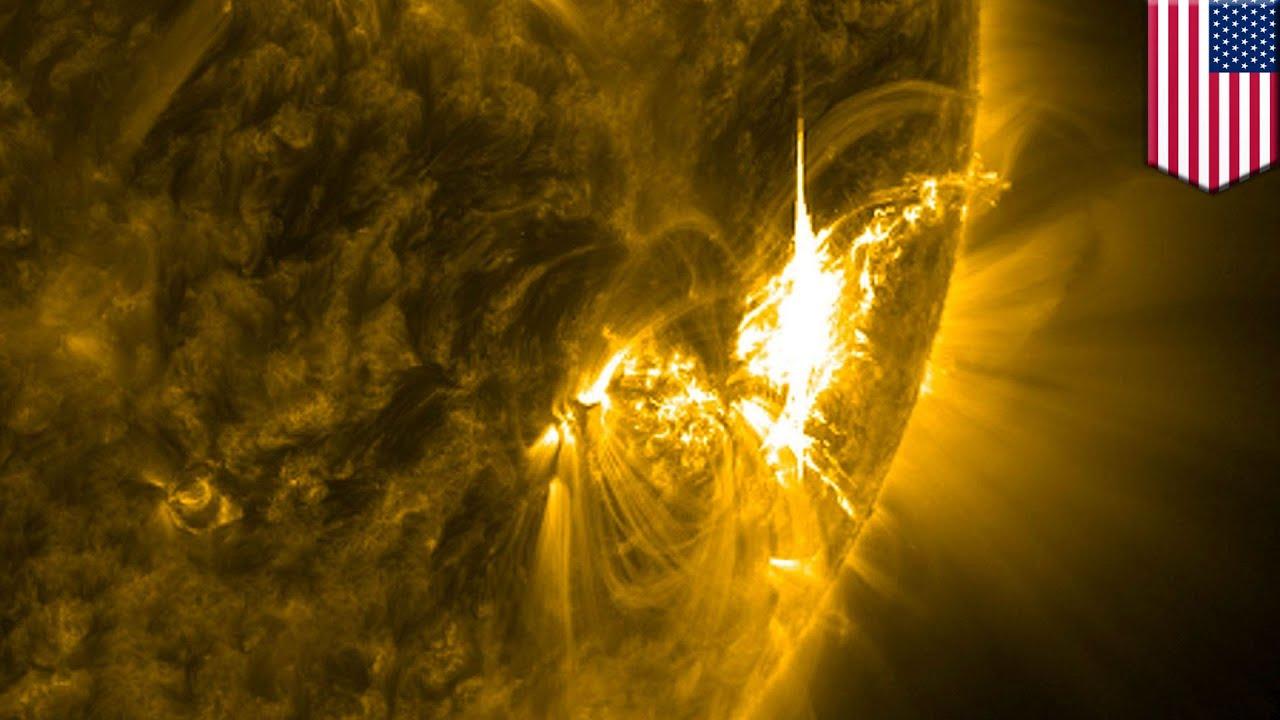 Solar storm alert: major solar flares are heading towards ...