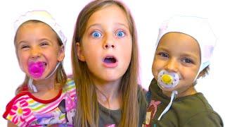 Ева и два Малыша - Это не куклы Беби Бон!