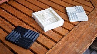 Robimy silikonowe formy do betonowych odlewów :) - Eksperymenty z silikonem formierskim