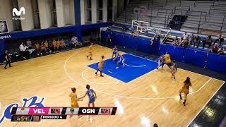 Las mejores jugadas de Agostina Burani en Obras Basket