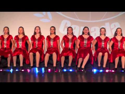 Dance World Cup 2014 - Acadian Folk Dance