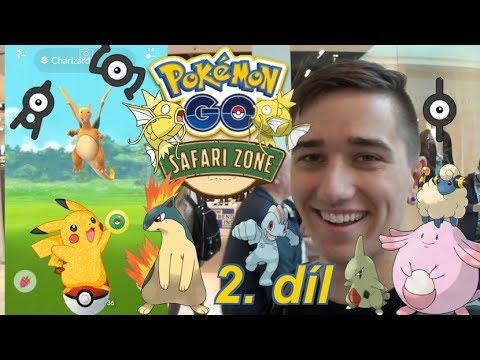 Pokémon GO | Shiny! Safari Zóna - Největší Akce CZ/SK! 2.díl | Jakub Destro