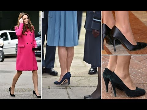 29f3f3d68e8 This is Kate Middleton secret for staying comfortable in heels - YouTube