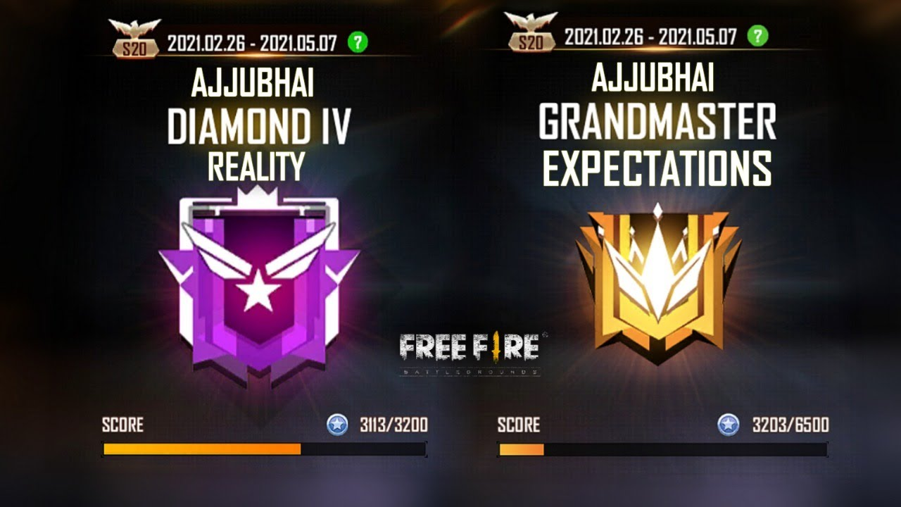 Free Fire Live Rank Push For Heroic and GrandMaster with Amitbhai - Garena Free Fire
