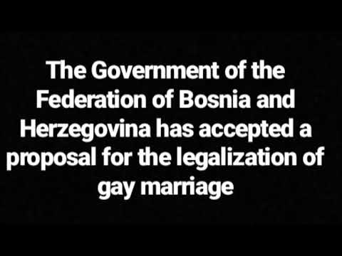 GAY MARRIAGES LEGAL IN BOSNIA?! Is that a yay or nay for Bosnians?!
