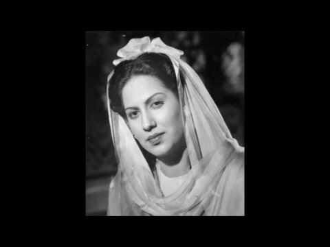 WAMIQ AZRA (1946) - Do hi lafzon ka thhaa ye fasaana - A R Qureshi & Naseem Akhtar