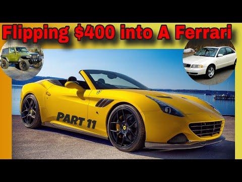 This one surprised me! $400 Ferrari Flip – Flying Wheels part 12