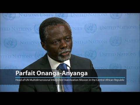 UN envoy flags need to 're-energize the political process' in the Central African Republic