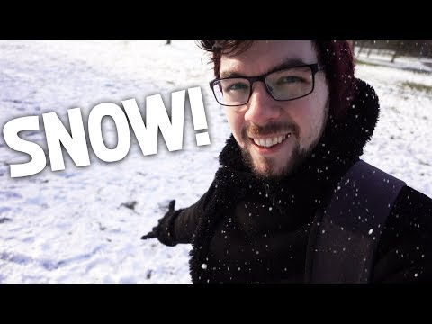 It Snowed In Brighton!