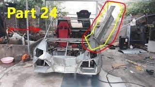 Homemade Lamborghini car part 24