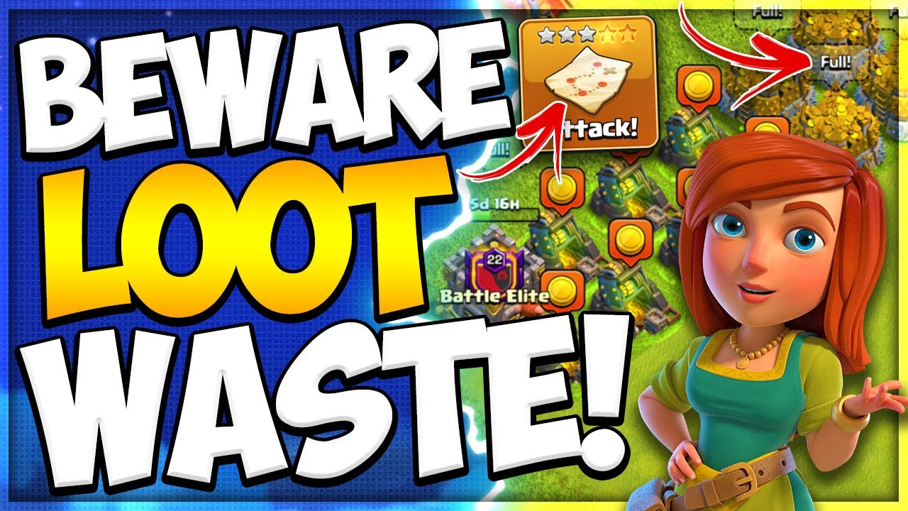 How to Avoid Boosted Loot Waste at a New Town Hall level! New Upgrade Strategy in Clash of Clans