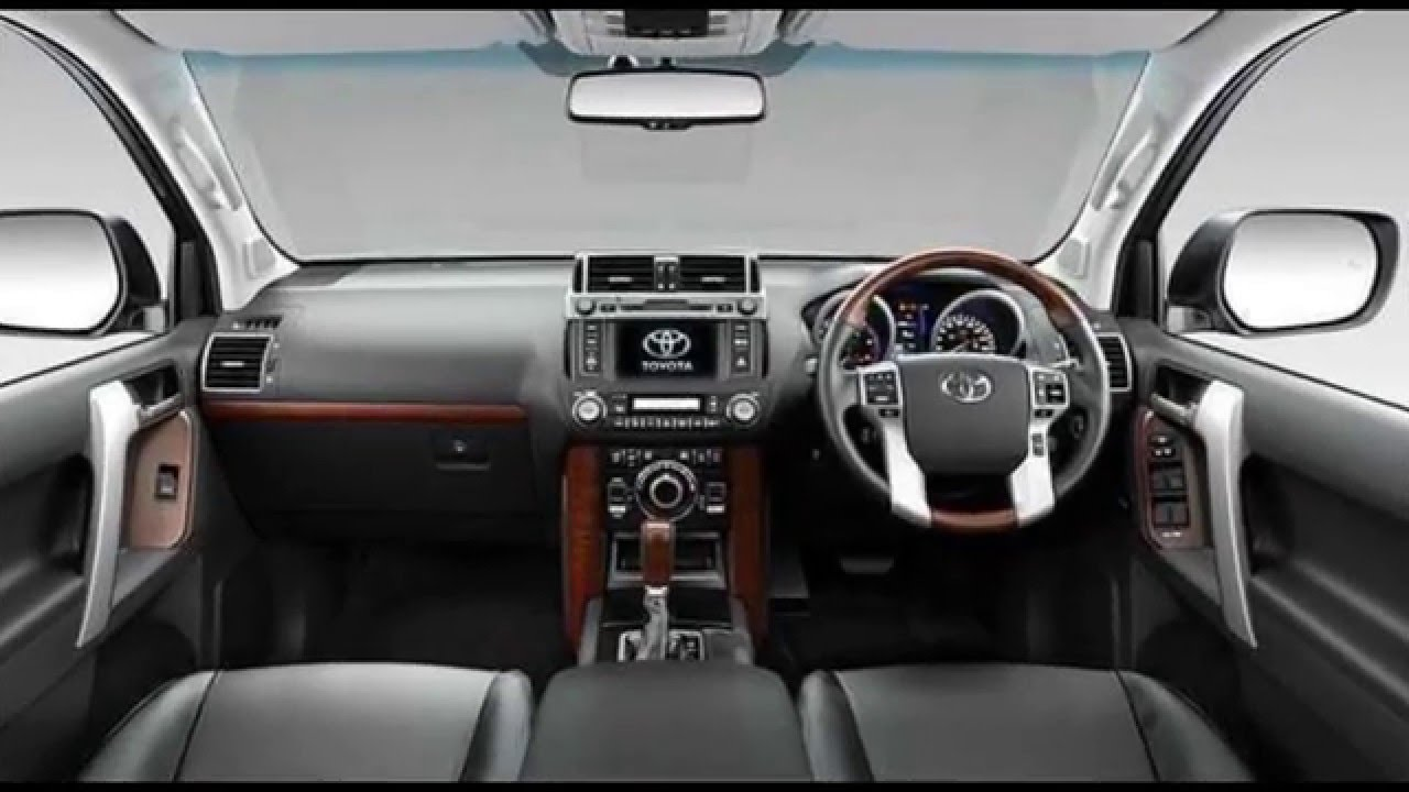 2017 Toyota Land Cruiser redesign - YouTube