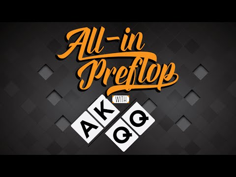 Going All-In Preflop With AK/QQ