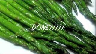 Oven Roasted Asparagus Recipe