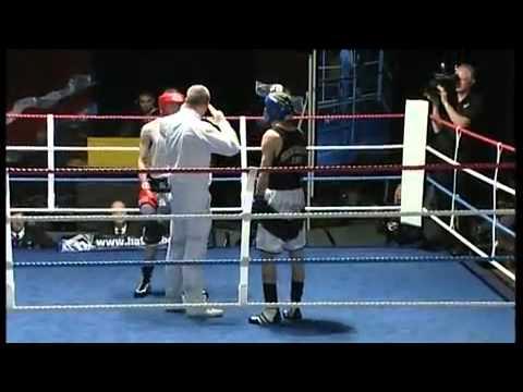 Lee Glover v Leo Der'langer  Midland ABA 57kg Final